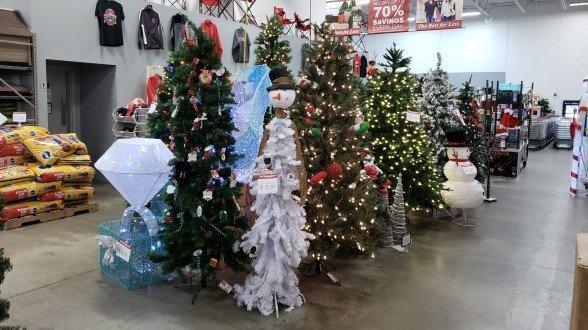 Seasonal Items on Display